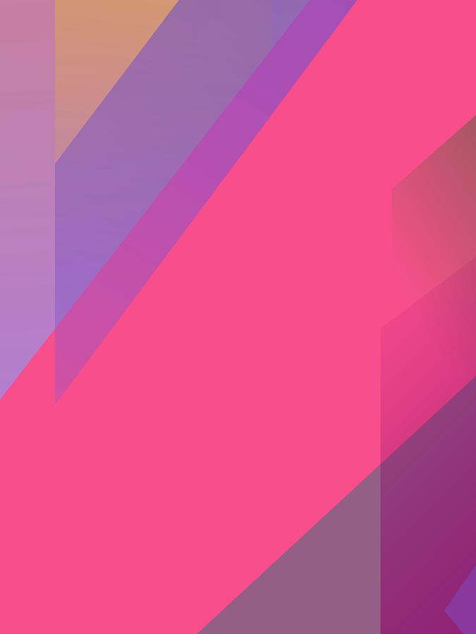 Abstract Colorful Gradient Pop Art 155 Digital Art