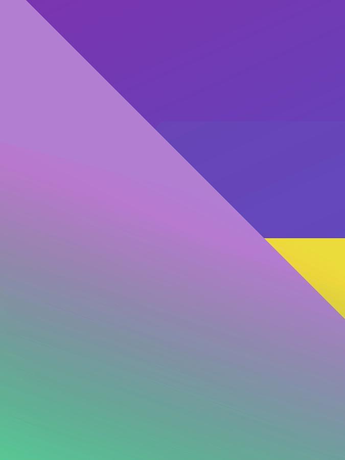 Abstract Colorful Gradient Pop Art 158 Digital Art
