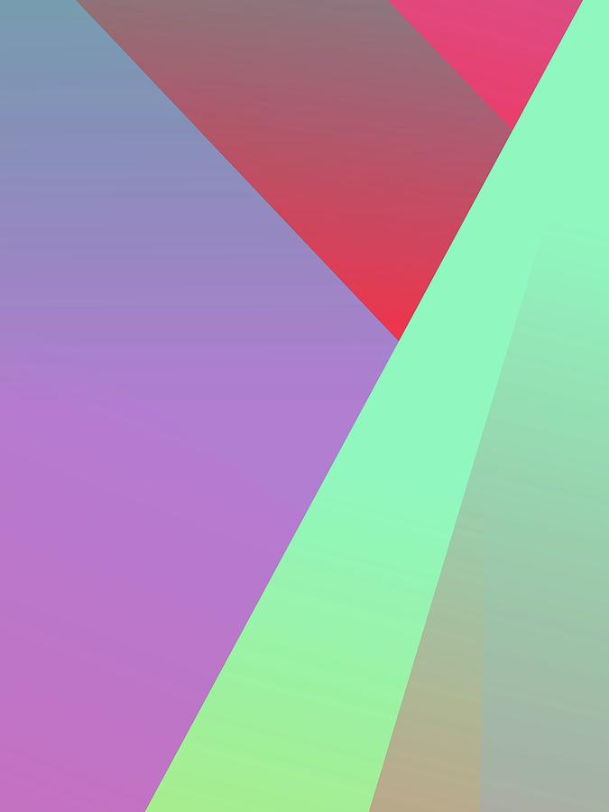 Abstract Colorful Gradient Pop Art 164 Digital Art