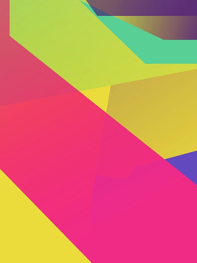 Abstract Colorful Gradient Pop Art 165 Digital Art
