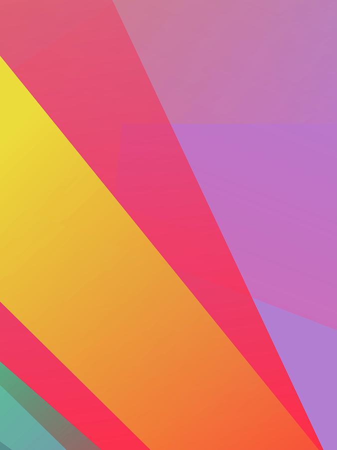 Abstract Colorful Gradient Pop Art 169 Digital Art