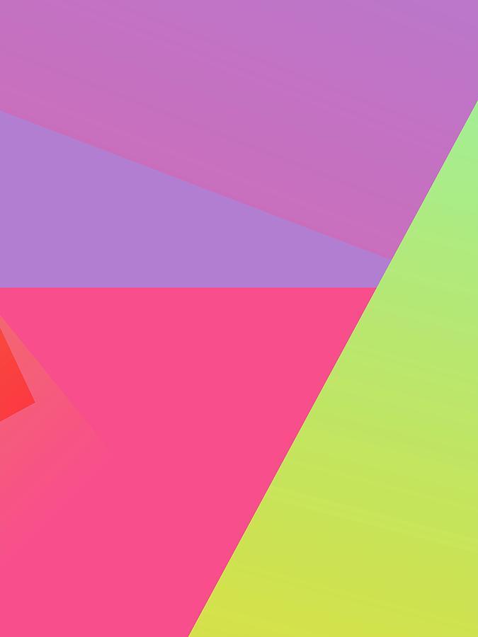Abstract Colorful Gradient Pop Art 170 Digital Art