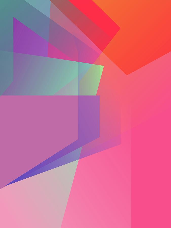 Abstract Colorful Gradient Pop Art 171 Digital Art