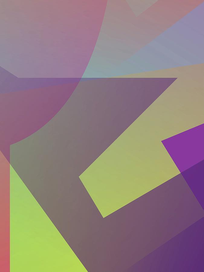 Abstract Colorful Gradient Pop Art 172 Digital Art