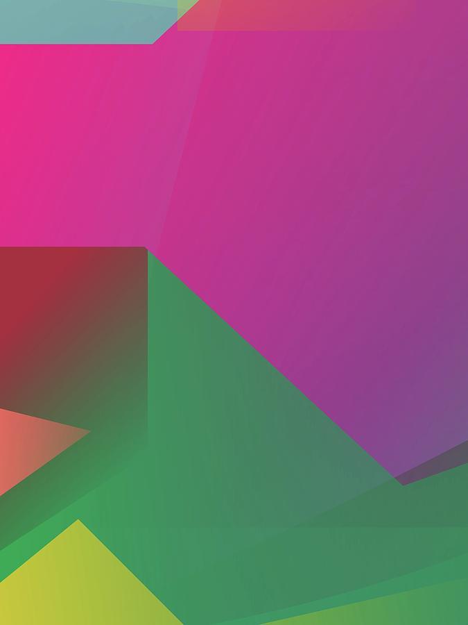 Abstract Colorful Gradient Pop Art 176 Digital Art