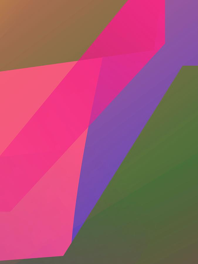 Abstract Colorful Gradient Pop Art 178 Digital Art