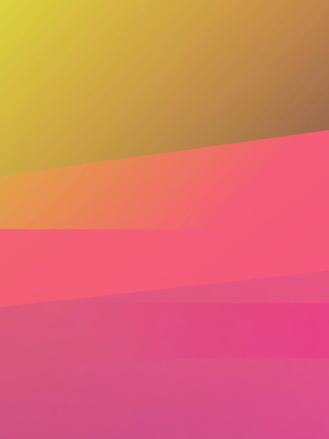 Abstract Colorful Gradient Pop Art 180 Digital Art
