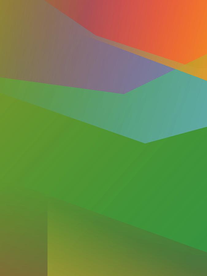Abstract Colorful Gradient Pop Art 196 Digital Art