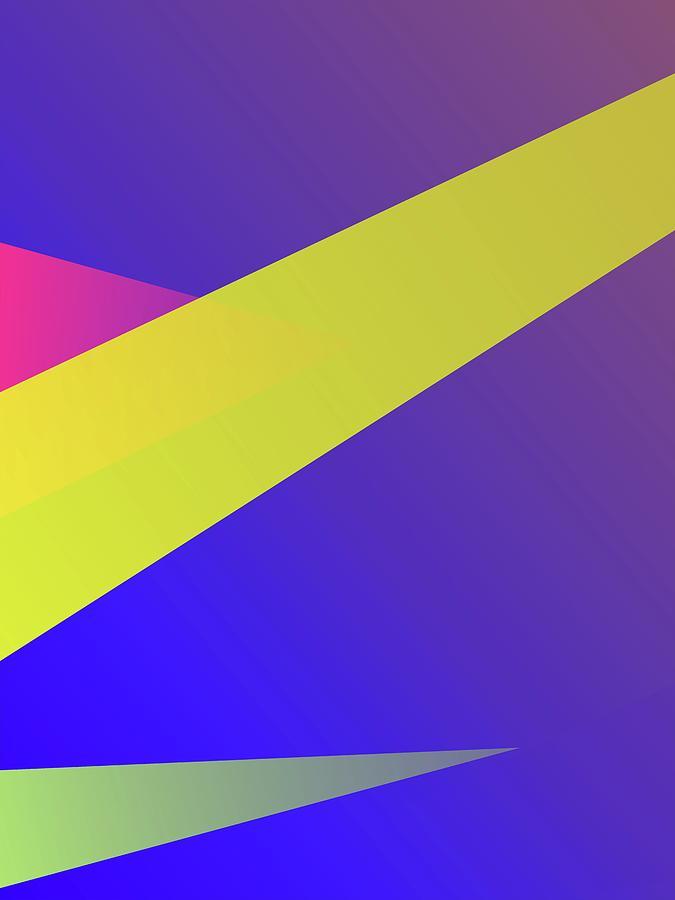 Abstract Colorful Gradient Pop Art 198 Digital Art