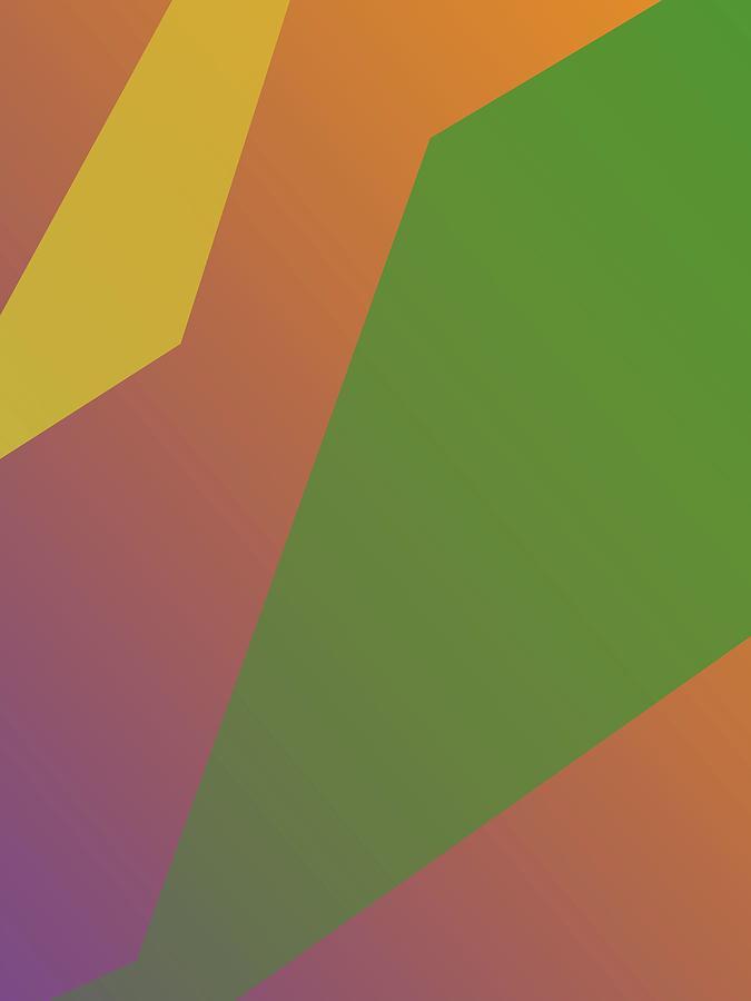 Abstract Colorful Gradient Pop Art 199 Digital Art