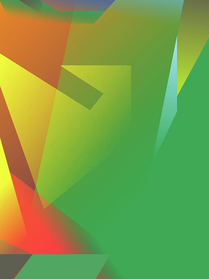 Abstract Colorful Gradient Pop Art 86 Digital Art