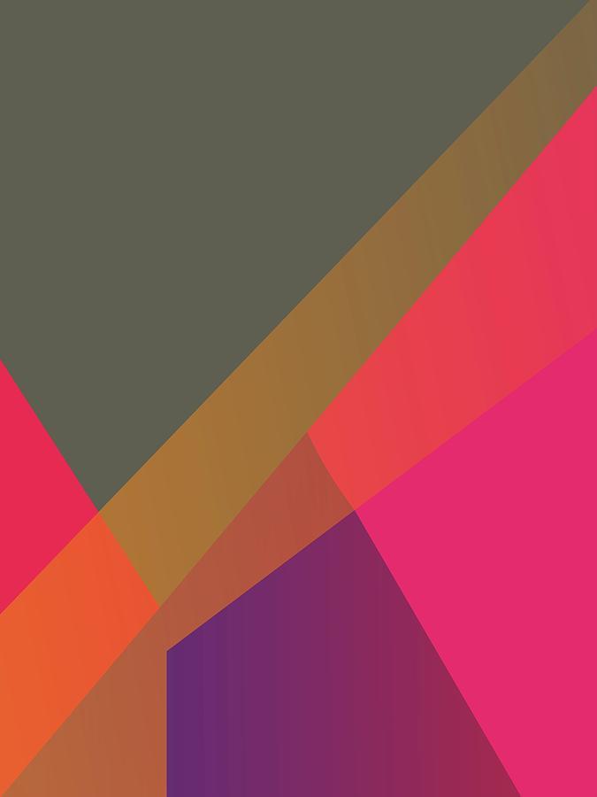 Artistic Digital Art - Abstract Colorful Gradient Pop Art 87 by Ahmad Nusyirwan