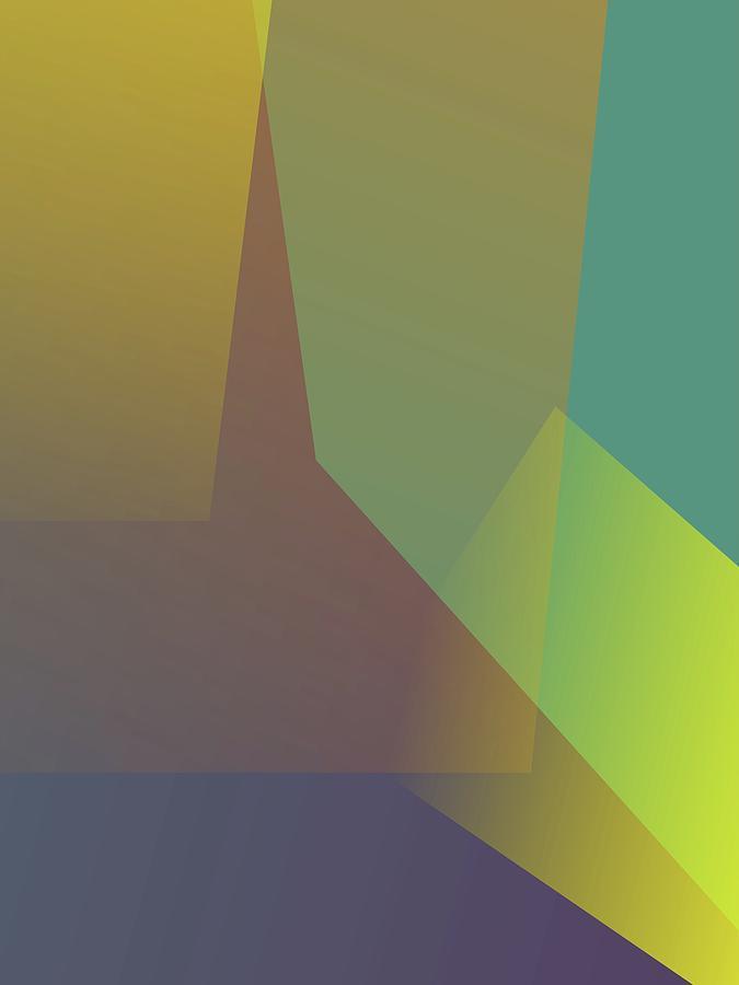 Artistic Digital Art - Abstract Colorful Gradient Pop Art 89 by Ahmad Nusyirwan