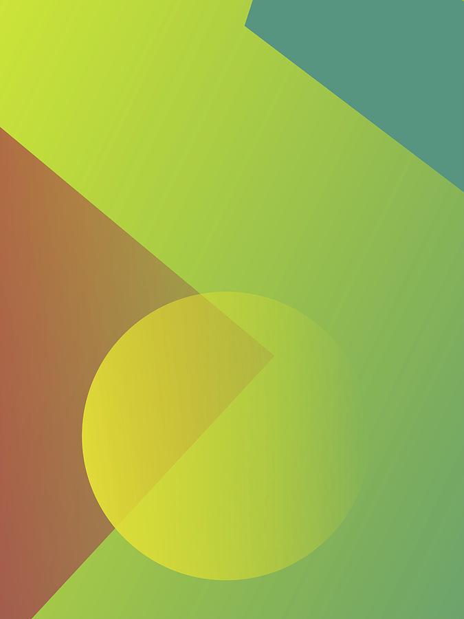 Abstract Colorful Gradient Pop Art 93 Digital Art