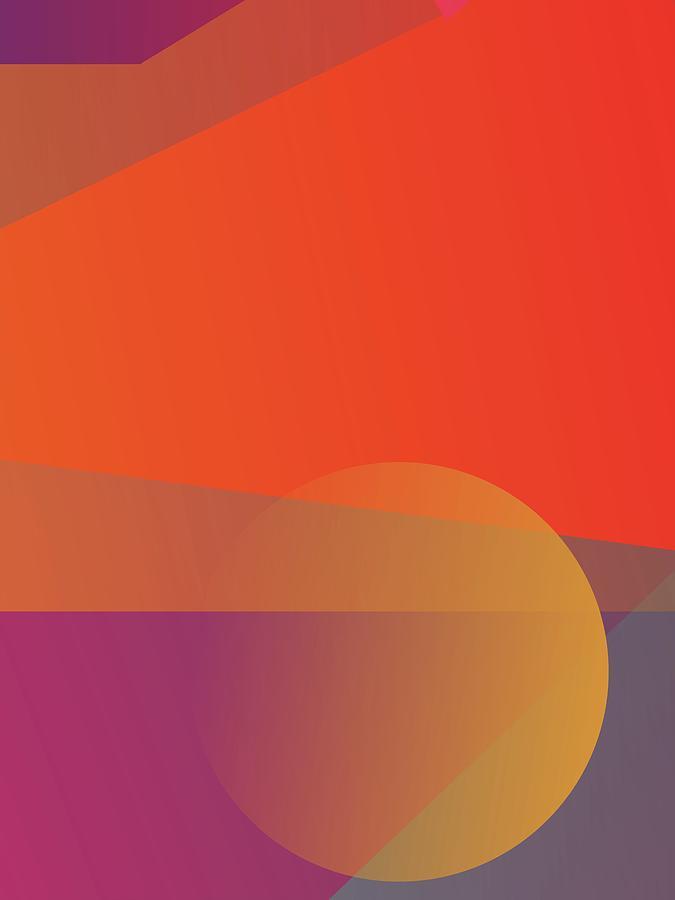 Abstract Colorful Gradient Pop Art 94 Digital Art