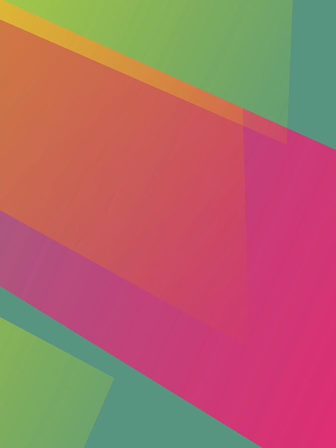 Artistic Digital Art - Abstract Colorful Gradient Pop Art 95 by Ahmad Nusyirwan