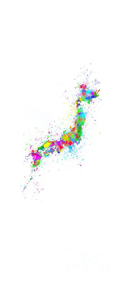 Abstract Photograph - Abstract Colorful Japan by Stefano Senise