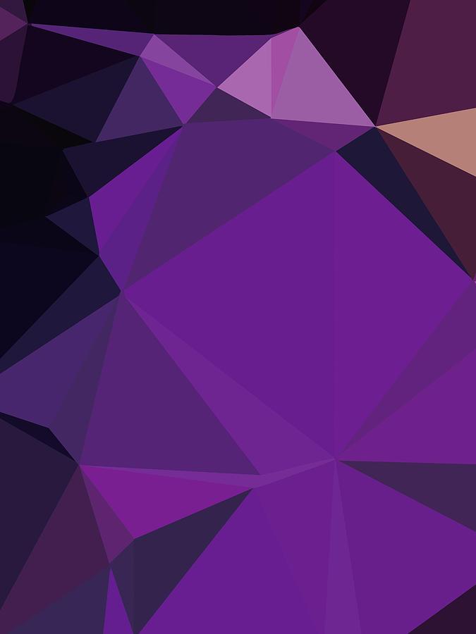 Abstract Colorful Polygon 31 Digital Art