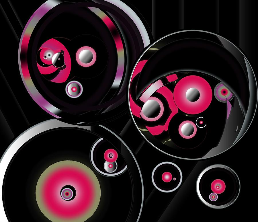 Abstract Design Circular Motion by Joan Stratton