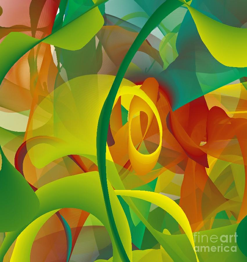 Abstract Expressionism Mind Scape 29 Digital Art