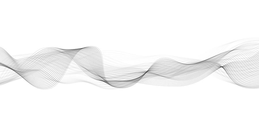 Abstract flowing banner Drawing by Dimitris66