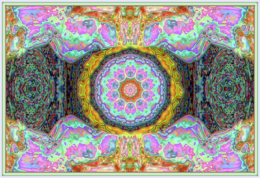 Abstract Fungus One Digital Art