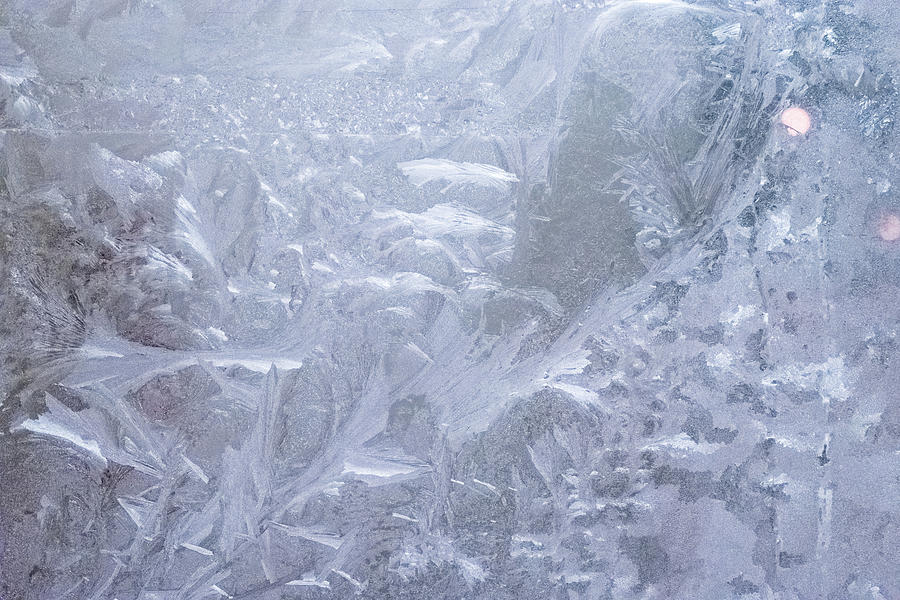 Abstract Ice Art - Mesmerizing Frosty Shapes and Patterns by Georgia Mizuleva