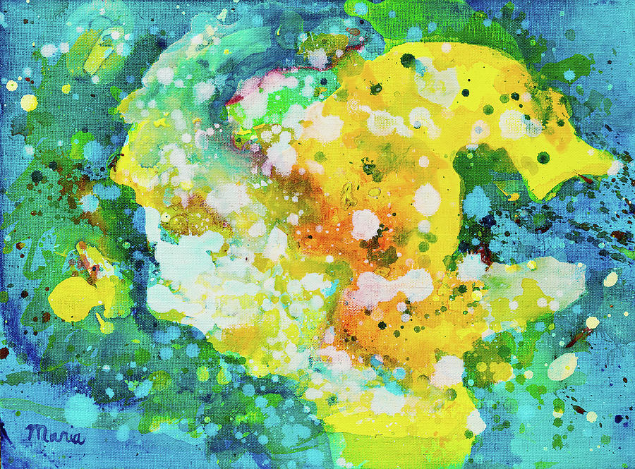 Abstract Painting - Abstract by Maria Meester