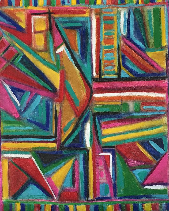 Abstract Mola by Kathy Othon