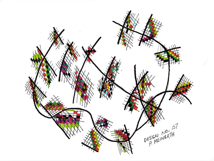 Abstract N0. 157 Drawing
