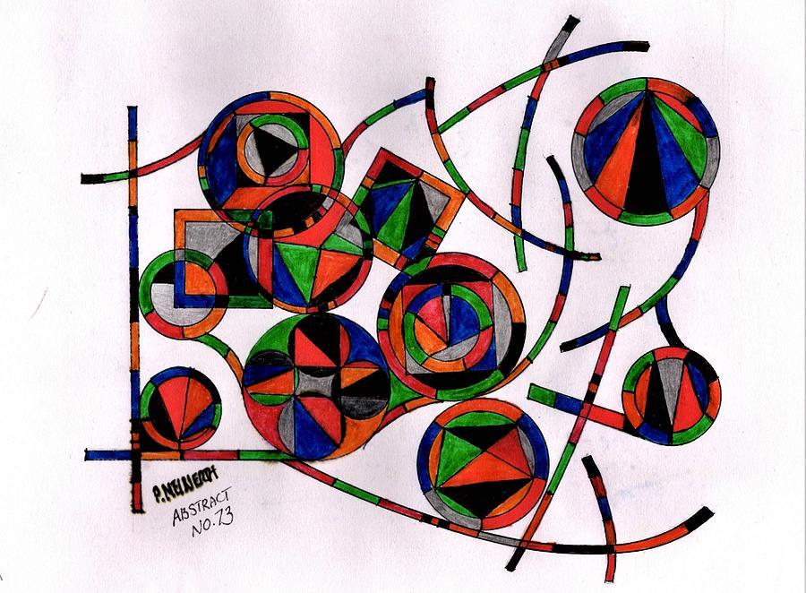 Abstract    No. 73 Drawing
