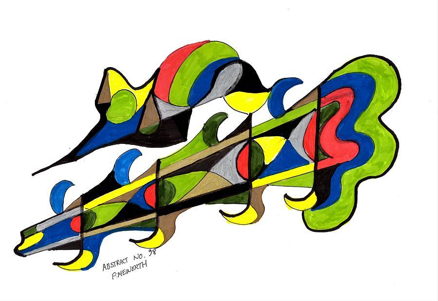 Abstract No.98 Drawing