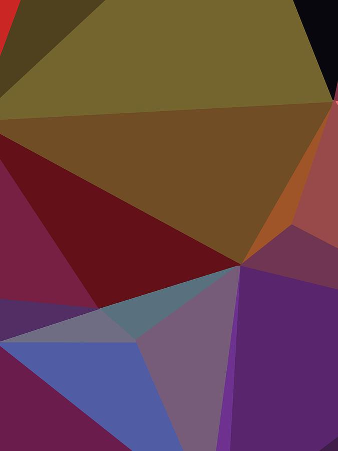 Abstract Polygon Illustration Design 110 Digital Art