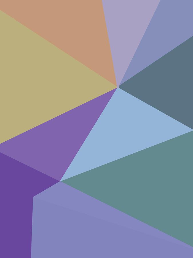 Abstract Polygon Illustration Design 115 Digital Art