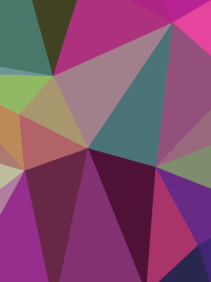 Abstract Polygon Illustration Design 116 Digital Art