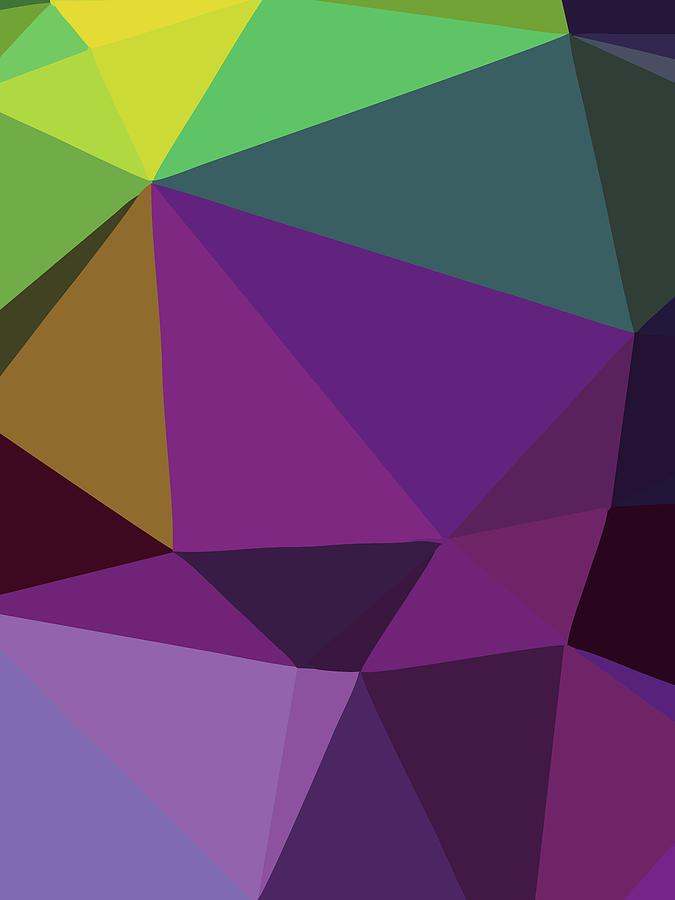 Abstract Polygon Illustration Design 119 Digital Art