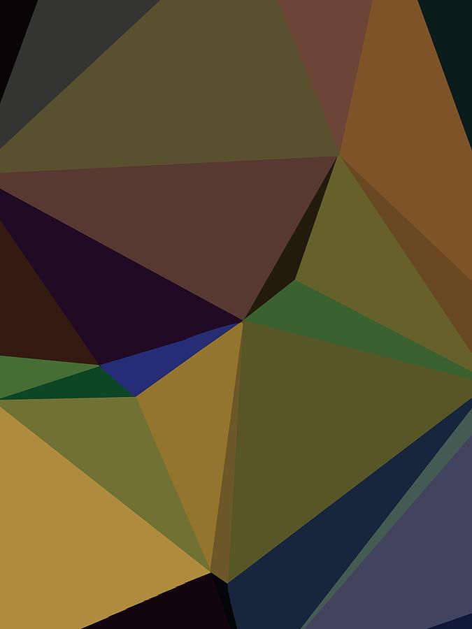 Abstract Polygon Illustration Design 139 Digital Art