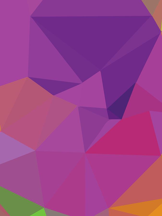Abstract Polygon Illustration Design 141 Digital Art