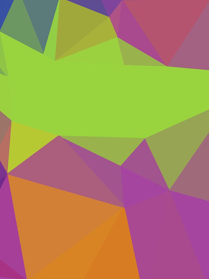 Abstract Polygon Illustration Design 142 Digital Art