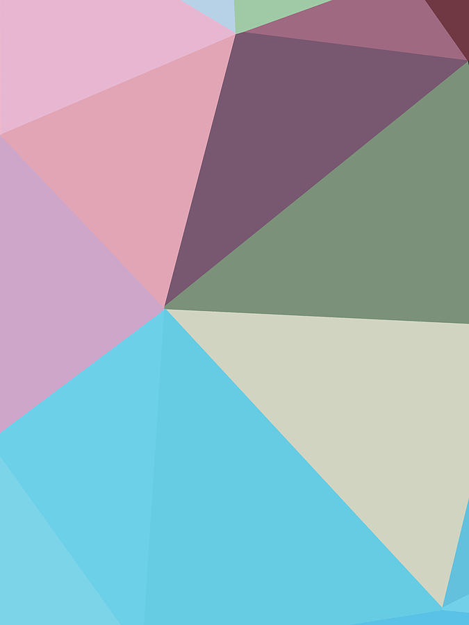 Abstract Polygon Illustration Design 146 Digital Art