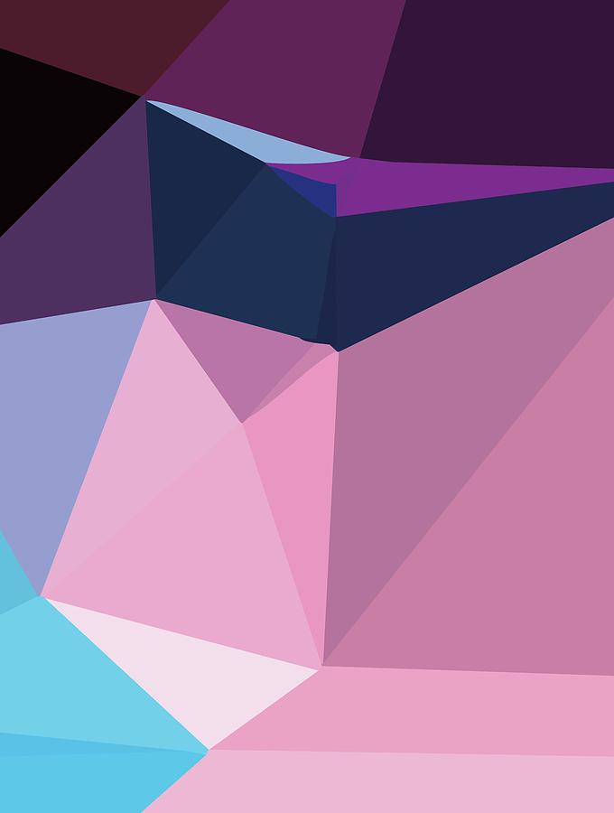 Abstract Polygon Illustration Design 147 Digital Art