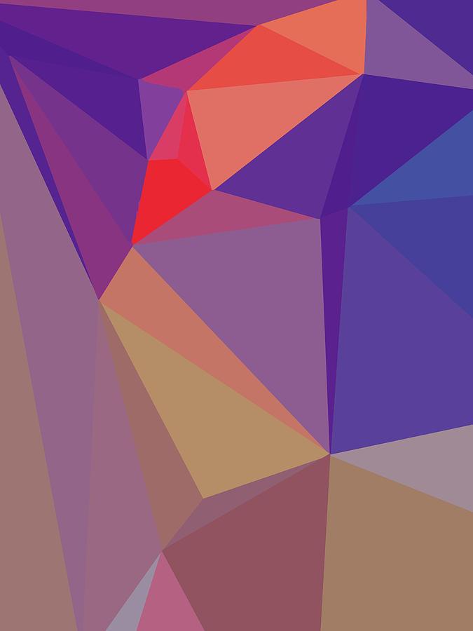 Abstract Polygon Illustration Design 148 Digital Art