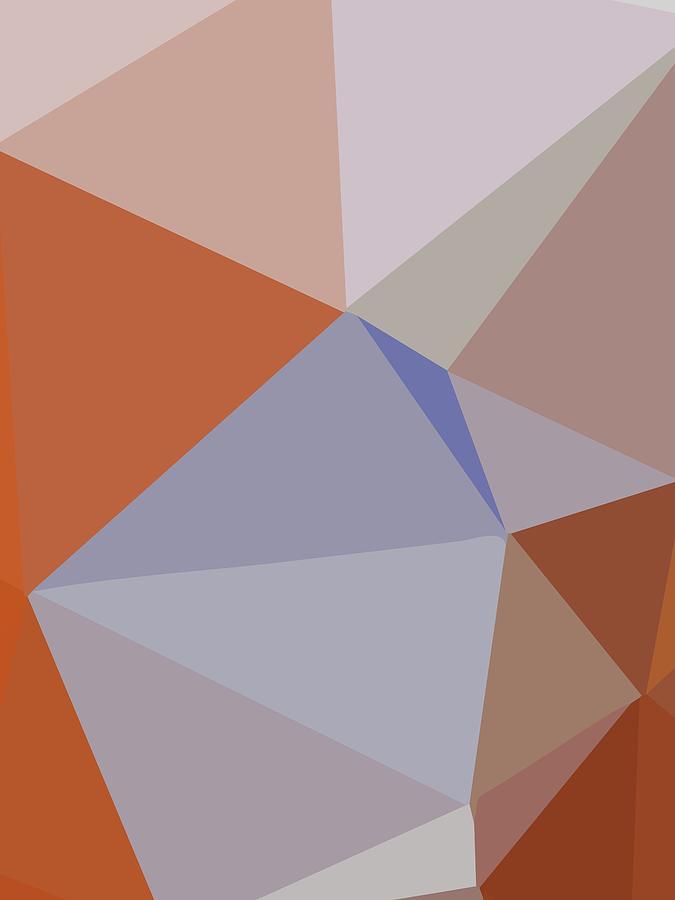Abstract Polygon Illustration Design 180 Digital Art