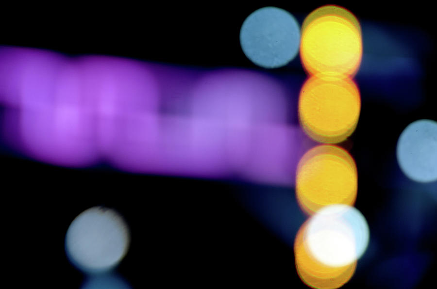 Abstract Purple Light #1 Photograph