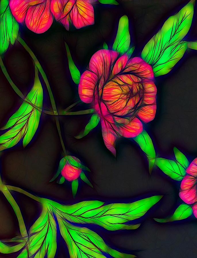 Abstract Rose Photograph
