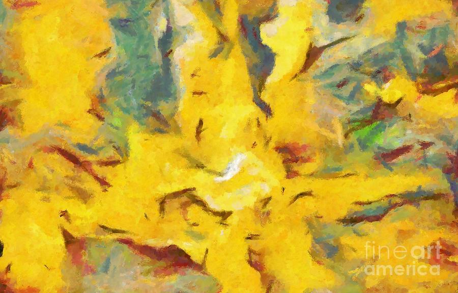 Savanna Painting - Abstract Savanna Colors by Stefano Senise