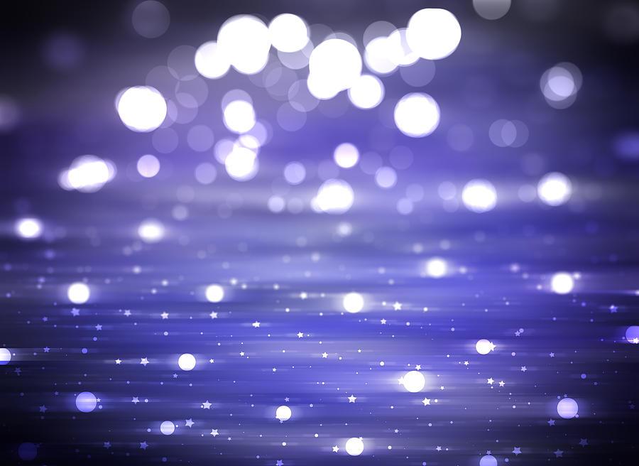 Abstract Shiny Violet Background Illustration Digital. Photograph