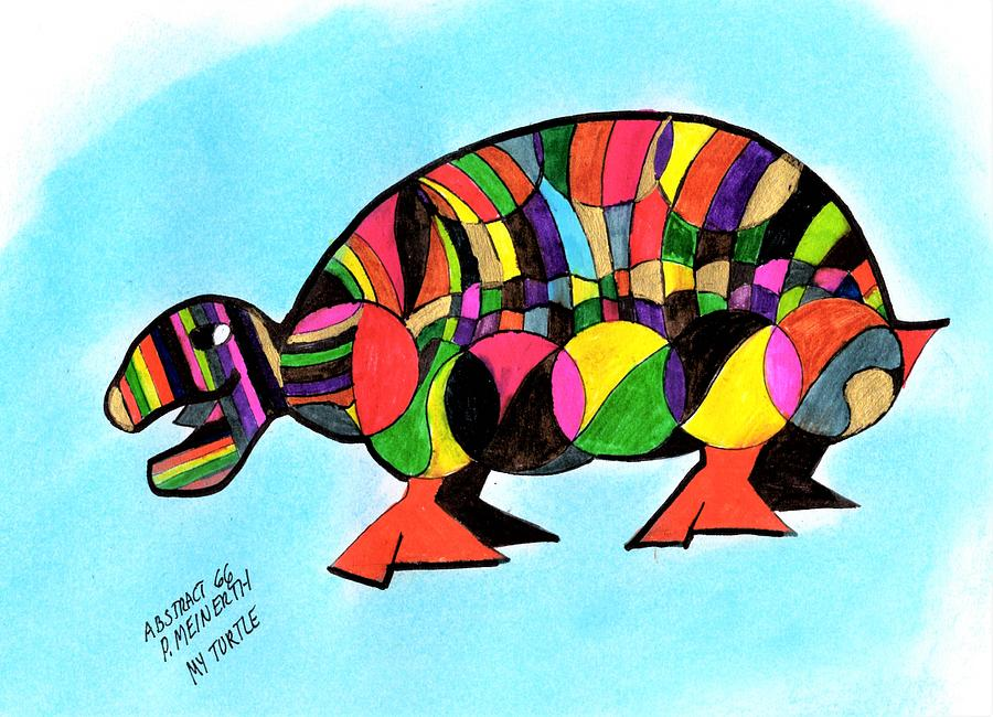 Abstracted Turtle Drawing