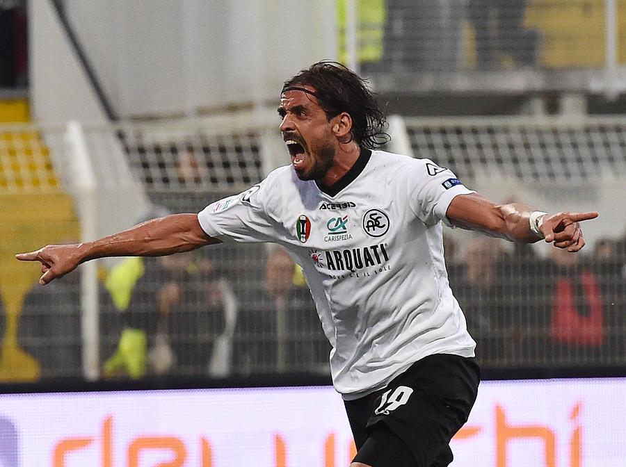 AC Spezia v Hellas Verona FC - Lega Serie B Photograph by Giuseppe Bellini