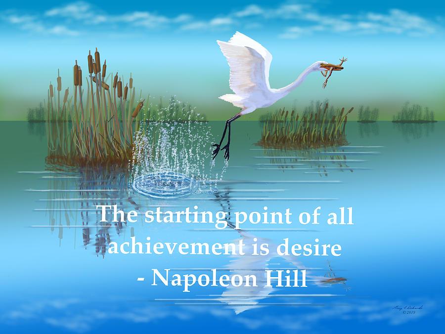 Achievement Starting Point Desire Digital Art